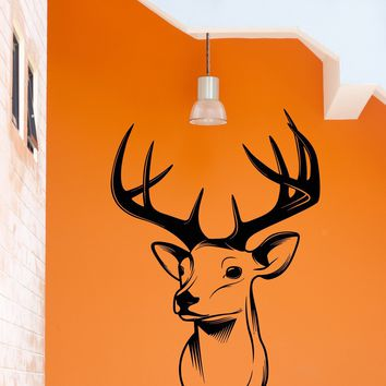 Vinyl Decal Wall Stickers Deer Hunt Hunting Hunter Decor For Garage Man Cave Unique Gift (z1832)