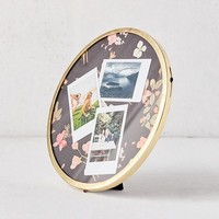 """Round Metal 8"""" Picture Frame 
