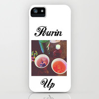 POURIN UP PRINT iPhone & iPod Case by Alissa