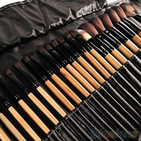 32Pcs Soft Makeup Brushes Professional Cosmetic Make Up Brush Tool Kit Set With Bag High Quality Hot Selling