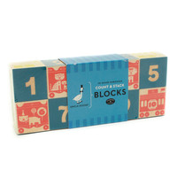 Count & Stack Numbered Wood Blocks