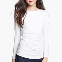 Vince Camuto Side Ruched Top | Nordstrom