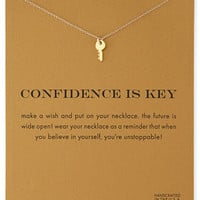 Confidence is Key Necklace