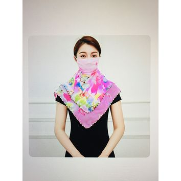 1 Fits All - PinkBGY - Face Mask Scarf