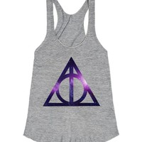 Deathly Hallows Galaxy Print