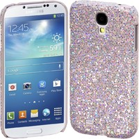 Cimo Bling Sparkle Hard Cover Back Case for Samsung Galaxy S IV S4 - White
