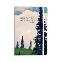 "Robin Dickinson ""Little By Little"" Clouds Typography Everything Notebook"