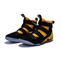 Nike LeBron Soldier 11 Black/Yellow