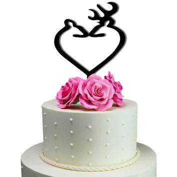 Cake Toppers Deer Love Wedding Cake Toppers