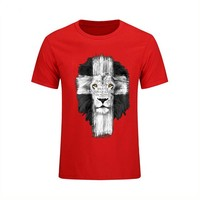 Anime T-shirt graphics Mens Jesus Kerusso Brand Christian T-Shirt Cross Fear Not Tops Tee Shirt Casual Camisetas male T Shirt pokemon bape palace anime AT_56_4