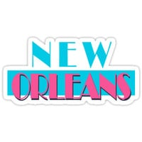 'New Orleans Louisiana Vice' Sticker by Skylar Harris