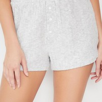 Out From Under Lexi Button-Front Short | Urban Outfitters