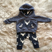 Sport Tracksuit Infant Toddler Boys 2PCS Casual