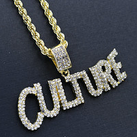 CULTURE Necklace Hip Hop - HC11256