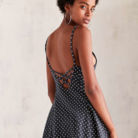 Kimchi Blue Marjery Printed Knit Fit + Flare Mini Dress - Urban Outfitters