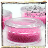 1 Box of Deco Sweets Pink Polymer Clay Sprinkles -Decora Miniautre Accessories Acrylic Supply / Scrap booking Decoration (SS.SRP.BS)