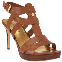 Marc Fisher Leather Strappy Heeled Sandals - Vachella - A264006 — QVC.com