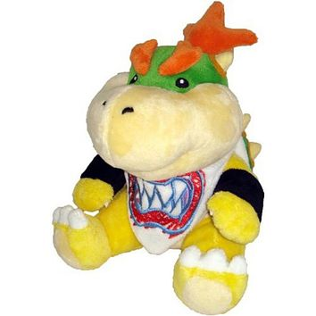 Super Mario party nes switch 2017 New  Koopa Bowser Dragon Plush Doll Brothers Bowser JR Soft Plush Toys 18cm   AT_80_8