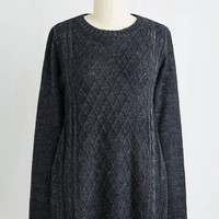 Mid-length Long Sleeve Make a Movie Night of It Sweater