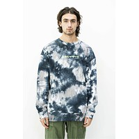 Tie Dye Crewneck in Black