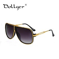 DOLGER Luxury Sunglasses Men Brand Oversized Sun Glasses For Women Brand Designer Fashion Eyewear UV400 NEW 2016 oculos S0539
