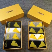 Fendi No-Show Sock Box