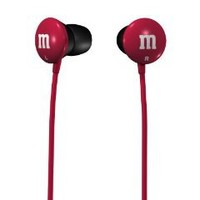 Pink Maxell M/&Ms Lightweight Earbuds 190551