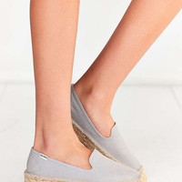 Soludos Canvas Platform Smoking Slipper - Urban Outfitters
