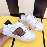 Fendi Girls Boys shoes Children boots Baby Sandle Toddler Kids Child Fashion Casual Sneakers SpFendiort Shoes