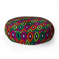 Aimee St Hill Leela Green Floor Pillow Round