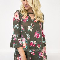 Tally Vibrant Floral Top