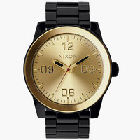 Nixon The Corporal Ss Watch Black/Gold One Size For Men 24407577401