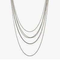 Ball & Snake Chain Necklace