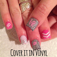 Valentines Day Nail Decals - Set of 80