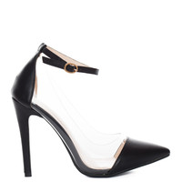 Shut Up and Dance Pumps - Black