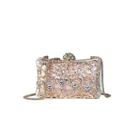 Wallets rhinestone banquet ladies clutch bag dress chain evening bag