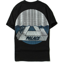 Palace Short Sleeve Cotton T-shirts [10262481171]