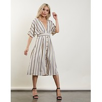 Last Chance Striped Dress