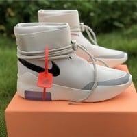 Nike Air Shoot Around Fear Of God Sa Fog Light Bone / Black - Best Online Sale