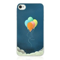 Colorful Balloon Case For iPhone 4/4S