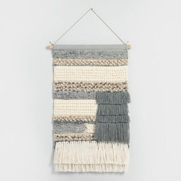 Taupe Woven Wall Hanging
