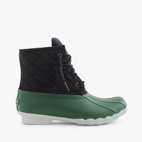 Women's Sperry For J.Crew Shearwater Quilted Boots