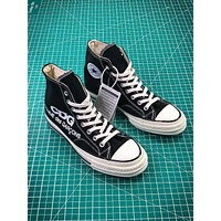COMME des GARÇONS CDG x Converse Chuck Taylor All Star Black White Mid Sneakers