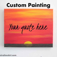 11x14 Canvas Custom Canvas Wall Art - Personalized Canvas Art - Canvas Quotes - Personalized Gifts Quote Gifts - Inspirational Quotes