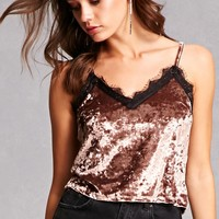 Crushed Velvet Cami