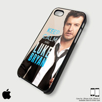 keep calm and Luke Bryan iPhone case for iPhone 4, iPhone 4S case, iPhone 5 and Custom case for Samsung Galaxy s3