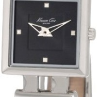 Kenneth Cole New York Women's KC2414-NY Trend Black Leather Watch