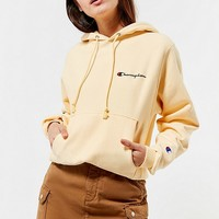 Champion & UO Arm Logo Hoodie Sweatshirt | Urban Outfitters