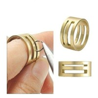 Brand New DIY Raw Brass Jump Ring Open/Close Tools For Jewellery Making Tool