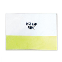 kate spade new york Food For Thought Rise And Shine Placemat